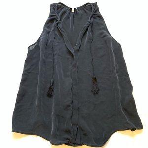 Joie 100% silk tank top size L